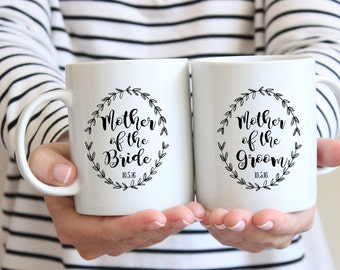 Mother of the Groom Mug, Mother of the Bride Mug, Coffee Mug, Personalized 15 oz Mug, Personalized 11 oz Mug, , Groom Coffee Cup, Coffee Mug