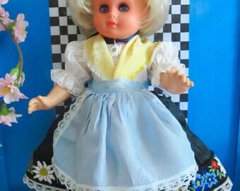 Vintage German Doll HV 10 Inch