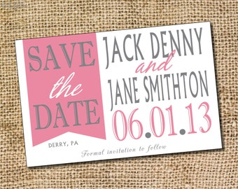 Save the Date - PRINTABLE