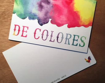 De Colores Emmaus Note Card Set (10 Cards)