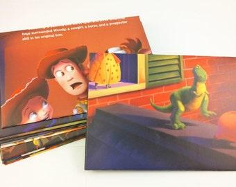 Toy Story Envelopes - Stationary Set of 10 LARGE