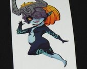 Midna Hyrule Warriors Decal