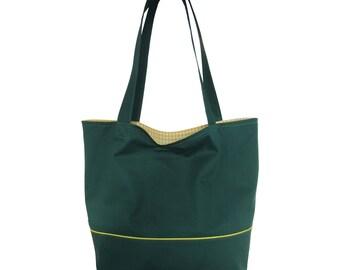 Shopper grass green - yellow