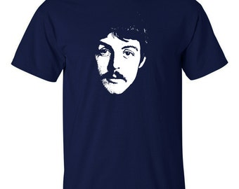 Paul McCartney T Shirt The Beatles Wings Men's Women's sizes