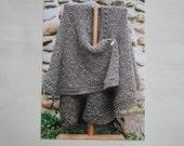 Knitting Pattern, Oat Couture, 'Knit Ruana'