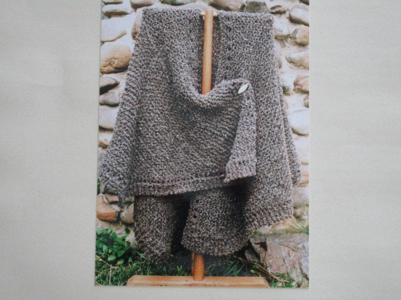 Knitting Pattern Oat Couture Knit Ruana
