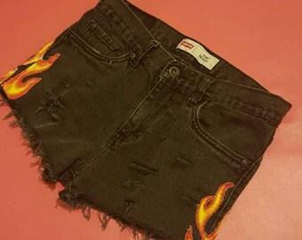hot jean shorts