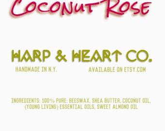 Coconut Rose Chapstick