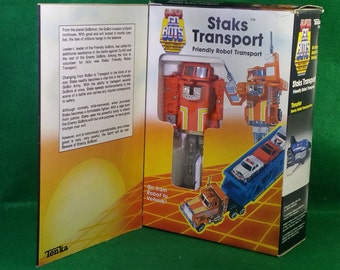 Vintage  NOS Tonka Super Gobots Staks Transporter Set  - # 7244