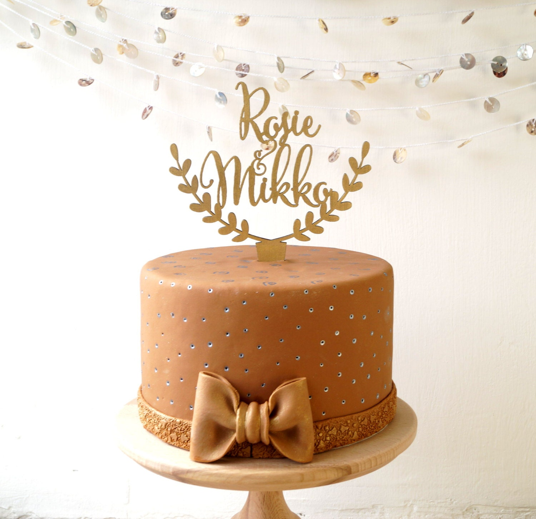 Personalized cake topper wedding cake topper custom cake