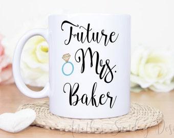 Future Mrs, Engagement Mug