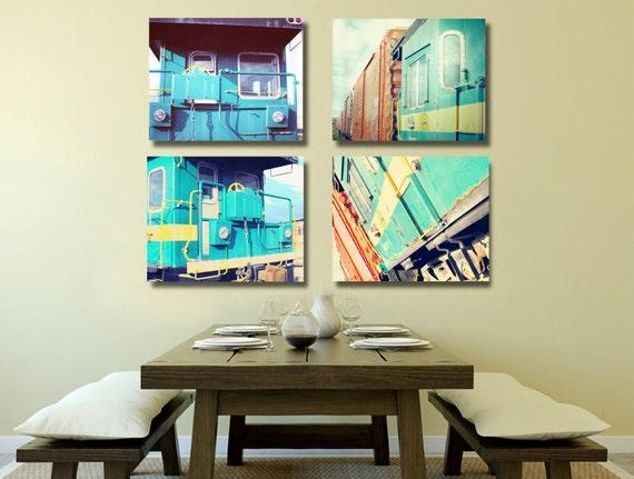 Items Similar To Train Photo Living Room Decor Kitchen