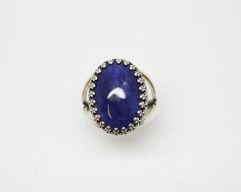 Sodalite Large Stone Ring