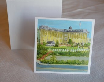 5 x 5 Congress Hall Card