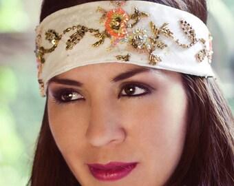 Embellished vintage headband