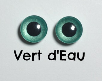13 mm - color green water size Pullip Eyechips models