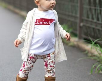 State Shirt, Home State Shirt, Home Shirt, State Tshirt, Tennessee Shirt, All States Shirt, State Home Shirt, Cute Baby Clothes, Kids Tee