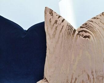 Brown Velvet Pillow Cover,Patterned Velvet Pillow Cover,brown Pillow Cover,Gold Velvet Pillow Cover,Patterned Pillow Cover