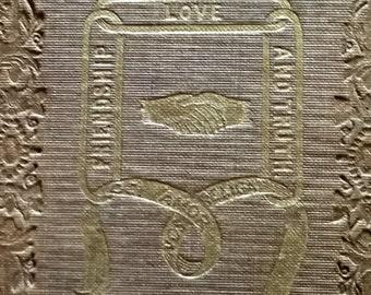 Odd Fellow's Gem - 1845 Miniature Book