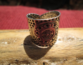 Sterling Band Ring Size 7