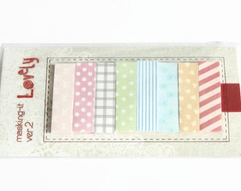 Sticky Tabs - 160 Tabs - 12x45mm - Self Adhesive Labels - Kawaii Memo Tabs - Office Supplies - Index Page Tabs - Post It Notes - OC103