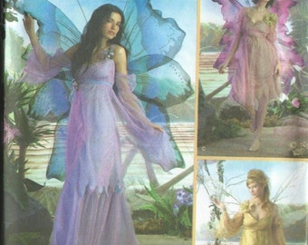 Adult Halloween Fairy Pixie Costume  Size 14-20 Cosplay Simplicity Pattern 3632 Adult
