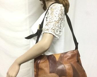 Convington, Leather Patchwork bag,Shoulder Bag, Purse,bags