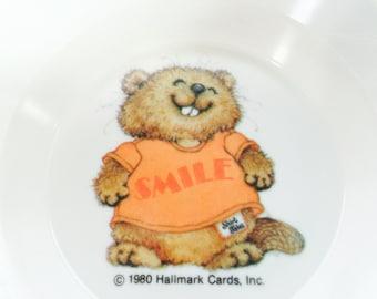 Vintage Shirt Tales Kids Bowl Cat Dish