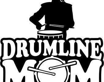 Drumline Mom T Shirt/ Drumline Mom Shirt/ Drumline Mom Clothing/ Drumline Mom Gift/ Girl Drummer Drumline Mom Short Sleeve T Shirt