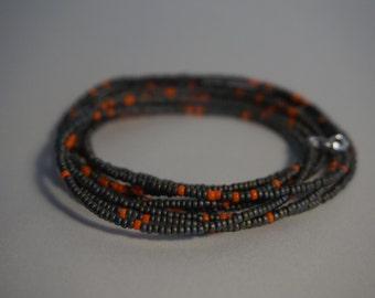 Bracelet Orange Grey
