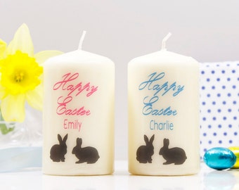 Easter Bunny Candle - Happy easter gift - Easter gift - Happy Easter Candle - easter candle - rabbit easter gift