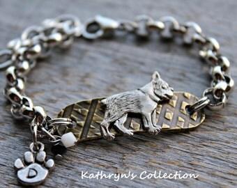 Boston Terrier Bracelet, Boston Terrier Jewelry, Boston Terrier Mom, Dog Lover Gift, Dog Breed Jewelry