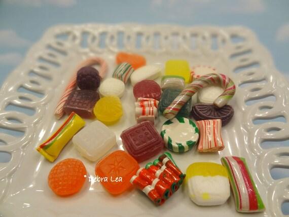Fake Candy Christmas Holiday Sweets Display Food Prop Decor