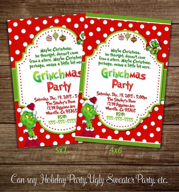 Christmas Party Invita...