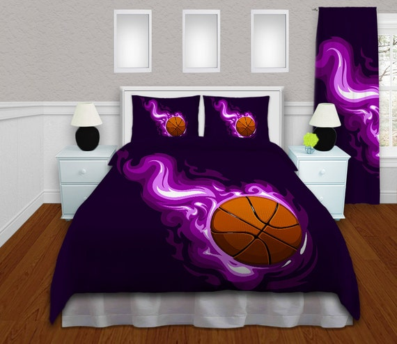 Basketball Comforter Girls Basketball By Eloquentinnovations