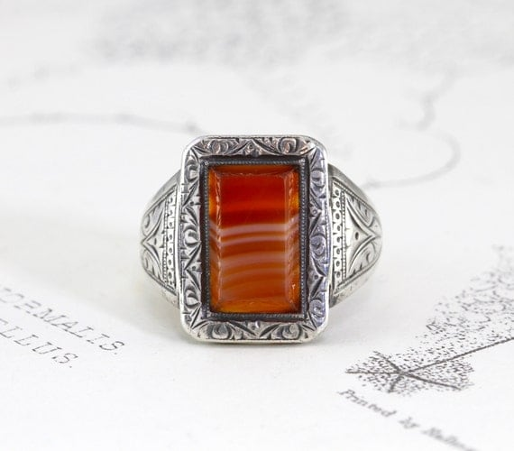 Made To Order Milatery Signet Ring