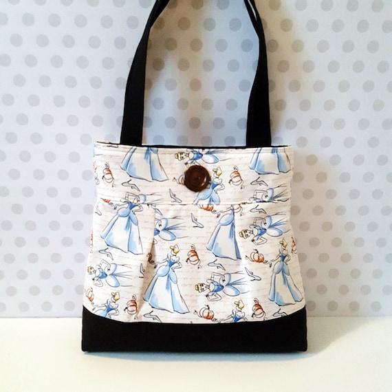 Cinderella Bag Vintage Style Princess Cotton Purse