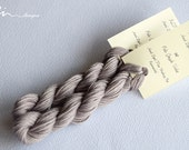 Hand dyed cotton thread / floss (6 strands) pale greyish violet (142) for cross stitch / embroidery