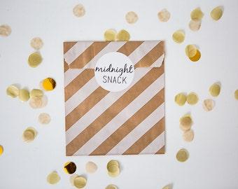 12 Round Stickers // Midnight Snack