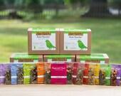 HERBAL TEA SAMPLER Gift Set, loose leaf tea, herbal tea gift set, Happy Birthday gift, Teacher gift idea