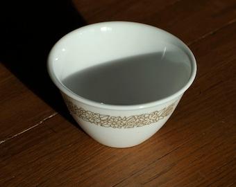 Corelle Livingware Woodland Brown Vintage Sugar Bowl - Made by Corning Glass, New York
