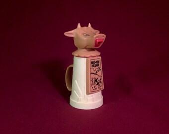Vintage Plastic Moo Cow Creamer