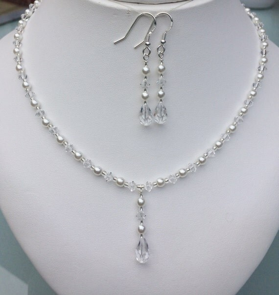 Items Similar To Bridal Pearl Drop Necklace Dainty Pearl. Face Rings. Rutgers Rings. Amethist Engagement Rings. Lot Diamond Engagement Rings
