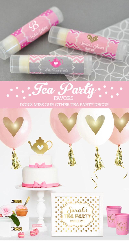 tea party favors tea party baby shower tea party favors