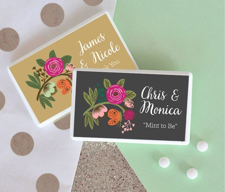 Mint To Be Wedding Favor Mint To Be Bridal Shower Favor