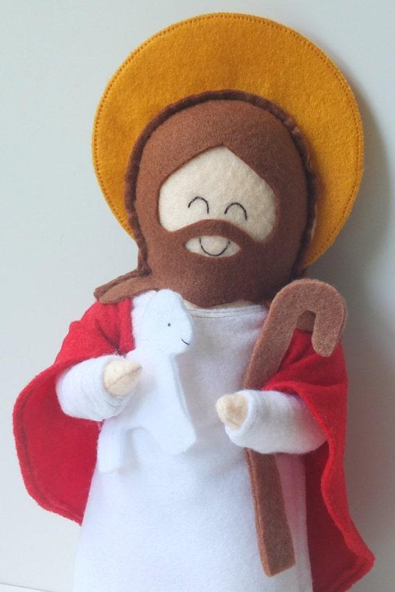 Jesus Felt Doll
