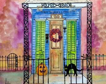 New Orleans Halloween 2 Shotgun House