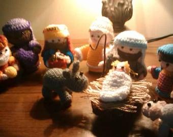Amigurumi Nativity Scene Crochet
