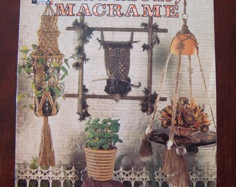 Mad About Macrame, Instructions Includes Owls, Pot Hangers, Jewelry, Wall Hangings,Hanging Table Lamp, Window Curtain, Home Decoration
