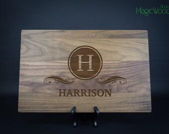 Personalized Cutting Board, Custom Laser Engraved Cutting Board, Wedding Gift, Anniversary Gift, Housewarming Gift